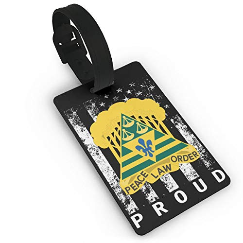 Army 260th Military Police Brigade District Of Columbia Luggage Bag Tags Travel Tags Travel ID Tag