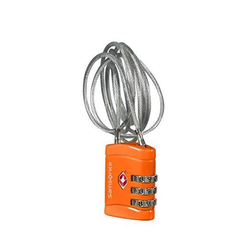 Samsonite Global Travel Accessories Lucchetto per Valigie, 60 cm, Arancione (Orange)