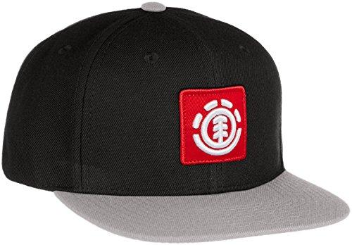 (エレメント)ELEMENT < ユニセックス > 定番 キャップ (サイズ調整可能) [ AI021-M92 / UNITED CAP A ] 帽子 おしゃれ AI021-M92 BKY BKY_ブラック F
