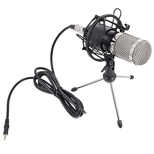 MILISTEN 3. 55Mm Bedrade Microfoon Podcast Opname Microfoon Set Condensator Microfoon Met Spons Kabel Voor Computer Tv…