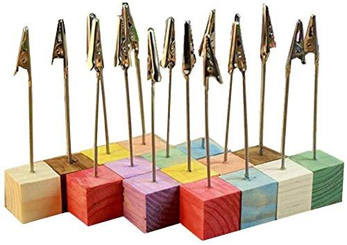 COMEYOU 50 Teile//Satz Metalldraht Krokodilklemme DIY Handwerk Draht Clip St/änder Fotohalter Foto Hinweis Clips