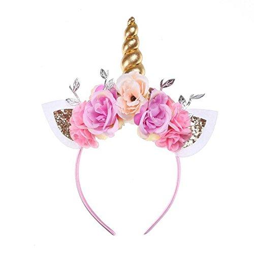 My Dream Day Humedad Ligera Diadema WickingLicorne Regalo de cumpleaños Infantil Flor artesanales Sombreros Baby Adornos de Cabello