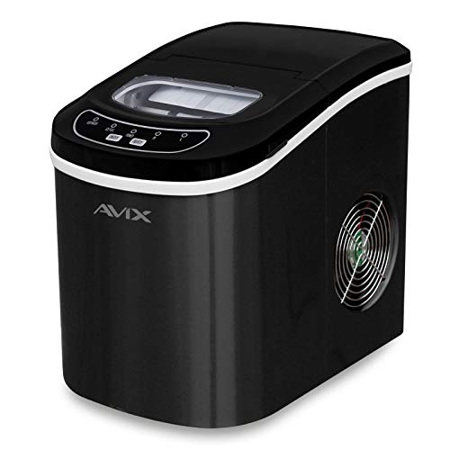Avix Ice Cube Maker Machine for Home Portable CounterTop Use Makes Ice...