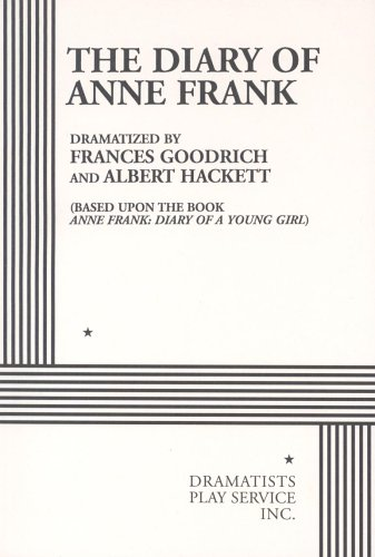 The Diary of Anne Frank 0822203073 Book Cover