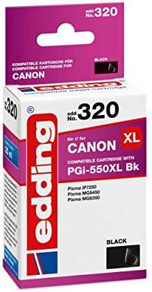 Edding Tintenpatrone Edd 320 Ersetzt Canon Pgi 550xl Text Schwarz 25ml Bürobedarf Schreibwaren