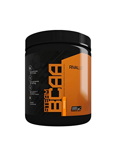 Rivalus Steam Bcaa Intra-Workout - 30 Servings - Orange, 309 g