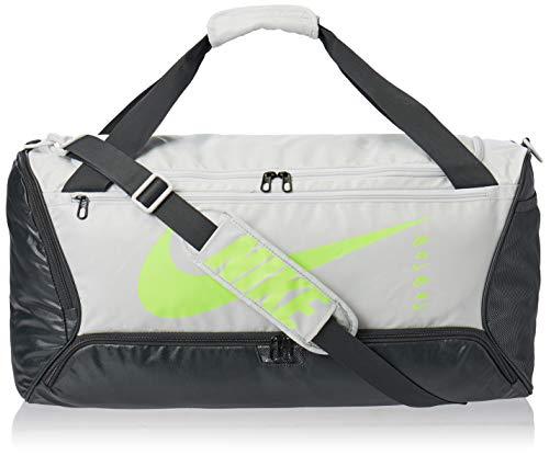 Nike Brasilia Duffel 9.0 Mtrl SP20 Sports Bag Unisex Sports Bag - Photon Dust/Dark Smoke Grey/Ghos, 1Size