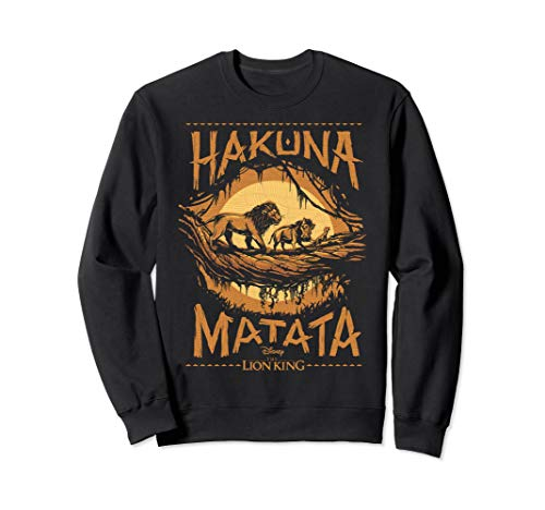Disney The Lion King Live Action Hakuna Matata Sunset Poster Sweatshirt