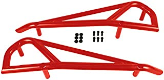 Allied Powersports 1004-RE Red RZR Steel Kick out Side Guard