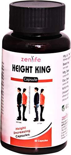 Zenlife Ayurvedic Height King || Body Growth Supplement- 60 Capsules