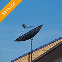 Outdoor HDTV Antenna Installation