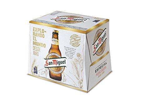 San Miguel Cerveza Especial - Pack de 12 x 250 ml - Total: 3000 ml