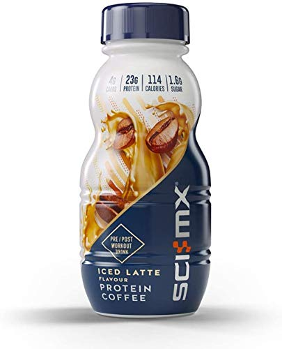 SCI-MX Protein Coffee Iced Latte 250ml, Guilt Free, Great Tasting