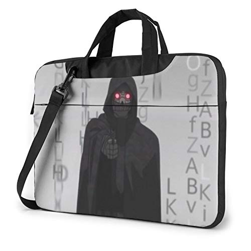 Sword Art Online Death Gun Laptop Sleeve Bag Messenger Bag Ultra Portatile Protettiva Spalla Tablet Notebook Computer Custodia Per Il Trasporto Per Nero 40 cm