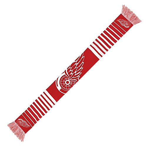 NHL Forever Collectibles BIG LOGO Scarf Detroit Red Wings