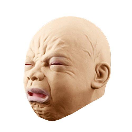 Tinksky Halloween Baby Maske Kopfmaske für Halloween Maskerade Fasching Party Kostüm