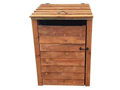 Single Wooden Wheelie Bin Storage