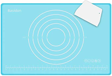 Baking Mat Non Slip Non Stick BPA Free Silicone Pastry Mat for Rolling Dough Kneading Dough product image