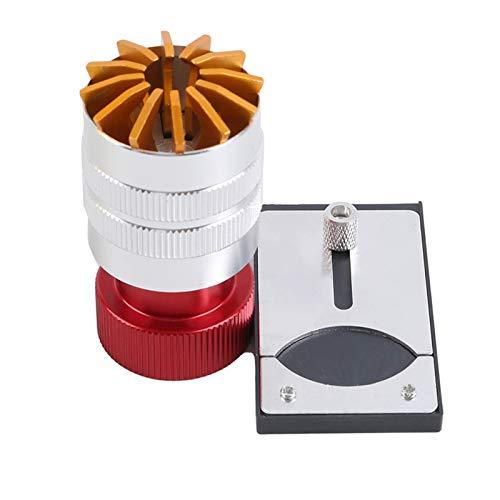 SSXPNJALQ Retire la reparación de reemplazo Bottle APERTURAR Herramienta RANDER HERRAMENTA Reloj DE LA Herramienta Máquina de Pegamento Máquina de Reloj de Vidrio de Acero Vidrio 3.