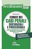 Codice dei casi penali sostanziali e processuali