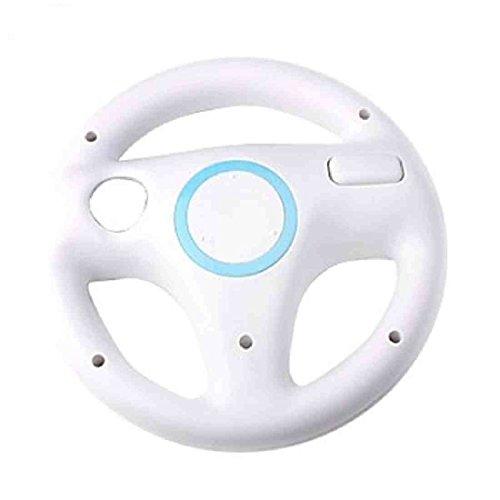 Targarian Nintendo Wii Wheel - Ruedas de Carreras para Juegos de Video , Juego de 2 , Color Blanco by