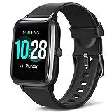 Blackview Smartwatch, Fitness Uhr Voller Touch Screen Fitness Tracker mit Pulsmesser, 5ATM Wasserdicht, Aktivitätstracker Sportuhr Schrittzähler Damen für Herren Stoppuhr für iOS Android