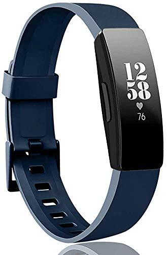 Chainfo Correa de Reloj Recambios Correa Relojes Caucho Compatible con Fitbit Inspire HR/Inspire - Silicona Correa Reloj con Hebilla (Pattern 1)