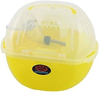 eDealMax hámster Gerbil de Los ratones de dos capas Diseño Ejercicio alimentador Nave de jaulas