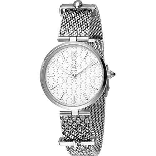 Orologio Just Cavalli Fashion JC Trama JC1L060M0055 - Analogico da Donna in Acciaio INOX