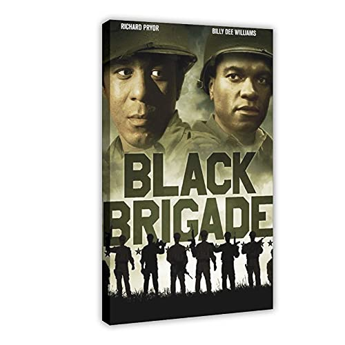 Póster de la película de la guerra del ejército de 1970 de película de Carter de la película de la película de 1970 para decoración de pared, marco de 30 x 45 cm