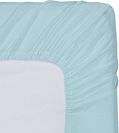 Gris, 90 x 190 cm Bolsillo Profundo Utopia Bedding S/ábana Bajera Ajustable Microfibra Cepillada -
