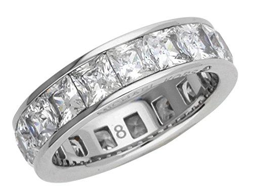 MICHAEL KORS Damen-Ring Edelstahl Glas silber Gr. 55 (17.5) - MKJ4751040-55