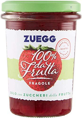 6x Zuegg Fragole Marmelade Erdbeeren Konfitüre Brotaufstriche Italien 250g