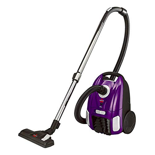 Bissell 2154 Zing Bagged Canister Vacuum, Purple