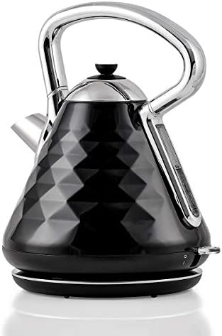 Ovente Electric Hot Water Kettle 1 7 Liter Cleo Collection Fast Heating Element with Cool Touch product image