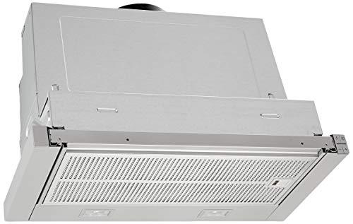 Neff D46ED52X1 Einbau-Dunstabzugshaube/Flachschirmhaube N50 / 60cm / Abluft oder Umluft/Energieeffizienzklasse A/silbermetallic