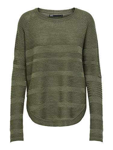 ONLY Female Strickpullover Einfarbiger MKalamata