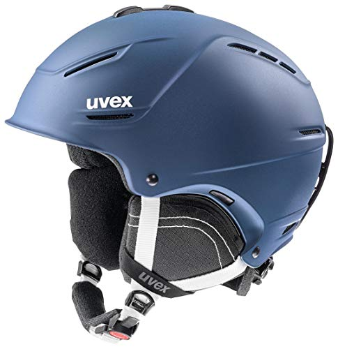 uvex Unisex– Erwachsene, p1us 2.0 Skihelm, navyblue mat, 55-59 cm