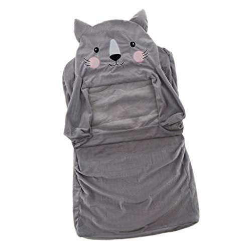 HomeDecTime Stretch Bezug Hussen Stuhlbezug Schonbezug für Kindersessel Babysessel Kinder Sessel Baby Sitz Kindermöbel - Katze