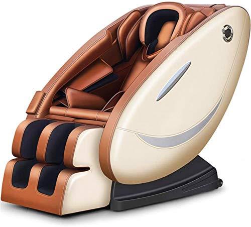 Sillón de masaje Masaje, Sillón de masaje pequeño sofá for el hogar completamente automática de la gravedad cero Shiatsu reclinable sueño gafas con U-Fila Almohada Dormir Y Gafas ,Multifunción Masaje