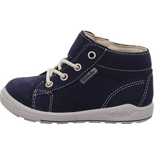 RICOSTA Pepino by Mixte Enfant Bottes & Boots ZAYNI, Bottes pour Enfants, Fille,Garcon Bottes,Bottes à Lacets,imperméables,Nautic,25 EU / 7.5 UK