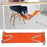 Kbqdkx Un pie ajustable creativo naranja telescópica mesa Plache mitigación pie fatiga rotura gancho hamaca