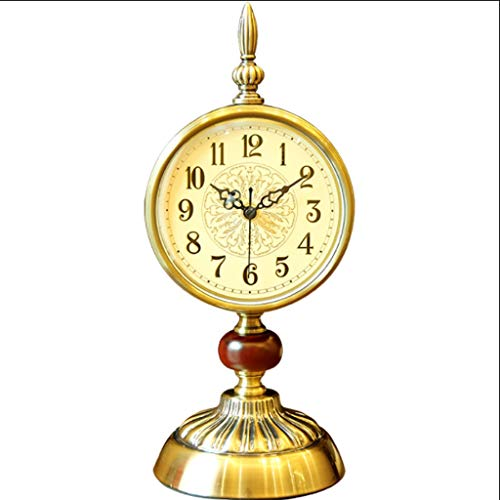 Reloj Despertador Reloj Retro Europeo Reloj de Escritorio Dormitorio Dormitorio Mesita de noche Retro Dormitorio Americano Habitación de Estudio Decoración Reloj Decoración Reloj de Escritorio