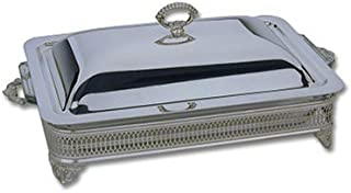 Reed & Barton Silver-plated 3-Quart Covered Baker/Casserole Dish