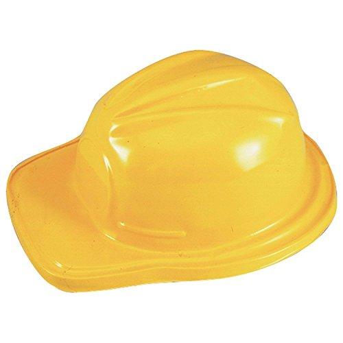 Rhode Island Novelty Plastic Adult Size Construction Helmets Hats (12 Per Package)