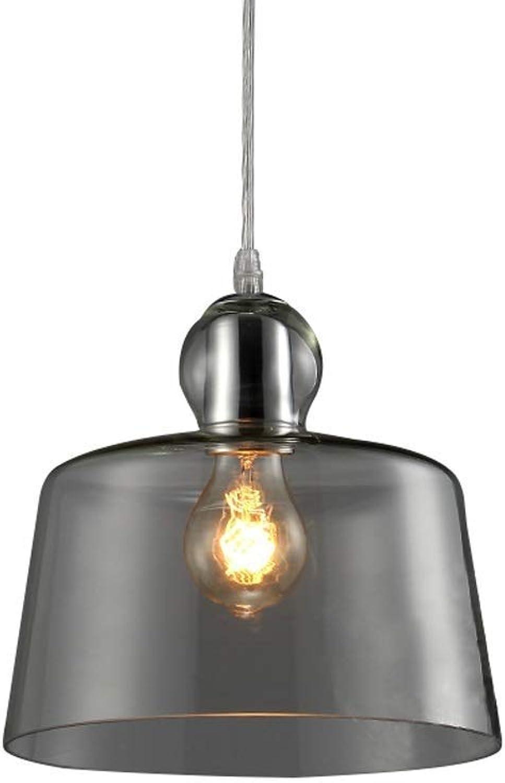 en stock QTRT Luces Colgantes de Metal de Vidrio Vidrio Vidrio Industrial Vintage Retro Pantalla de Vidrio Transparente Lámpara de Techo Colgante E27 Edison Colgante Accesorio de iluminación for la Sala de Estar Dormitorio  comprar barato