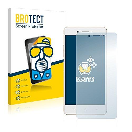 BROTECT 2X Entspiegelungs-Schutzfolie kompatibel mit Oppo F1 Bildschirmschutz-Folie Matt, Anti-Reflex, Anti-Fingerprint