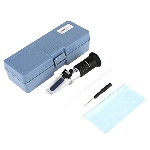 Brix Honig Refraktometer Brix: 58-90% Wasser: 10-33%, Baume Be 20°: 38-43 Skala Bereich Honig Zucker Tester mit Temperaturkompensation