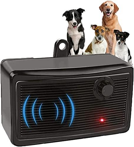 Anti Barking Device, 2-in-1 Bark Control Device and Dog Training, Ultrasonic Dog Barking Deterrent, Waterproof Bark Box, Effective and Safe Sonic...