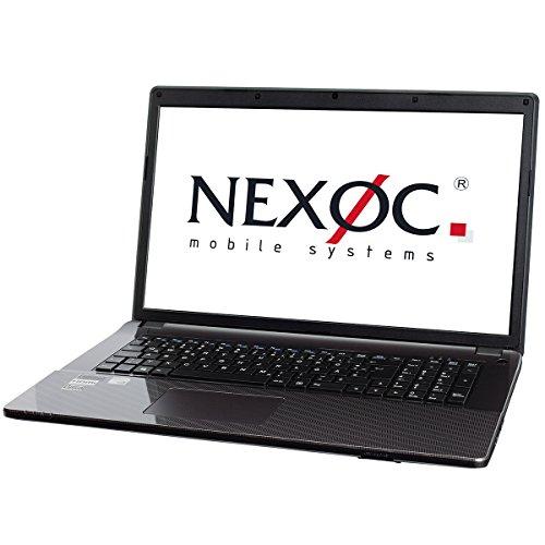 Nexoc 1362199 M731III Laptop (1000GB, 8GB NVIDIA) silber/grau